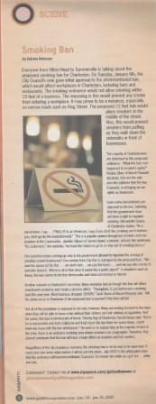 Graffiti - Smoking Ban