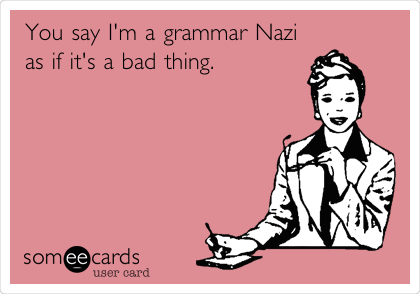Grammar Nazi 1
