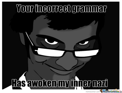 Grammar Nazi 2