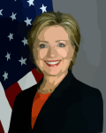 Hillary, if someone went a little heavy on the airbrushing.
