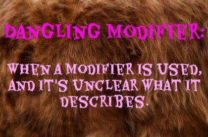 dangling modifier definition