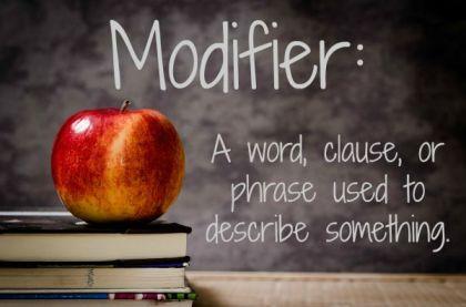modifier definition