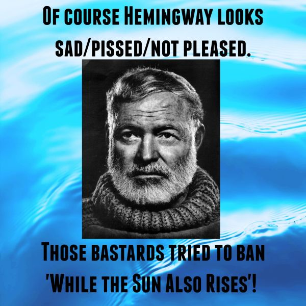 banned books hemingway