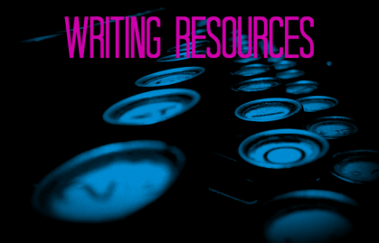 Resources Page Writing Resources