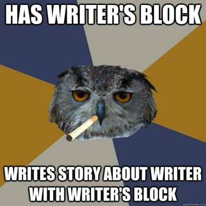 Funny Writers Block