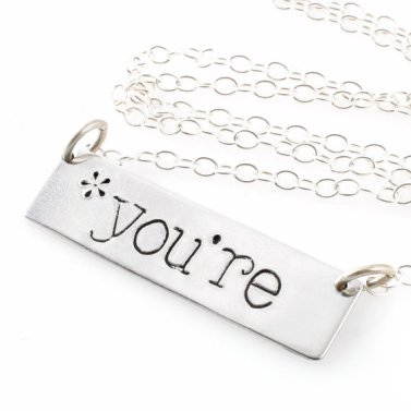 grammarm police necklace