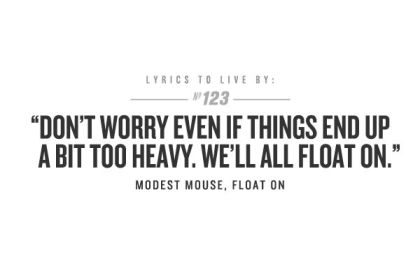 modest mouse quote
