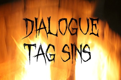 Fun with dialogue tags - Dialogue Tag Sins