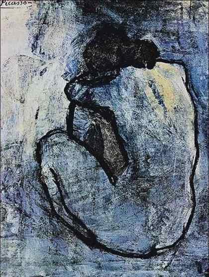 blue-nude picasso