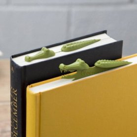 alligator bookmarks for readers