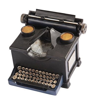 typewriter trinket box for writers