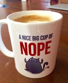 the oatmeal funny mug