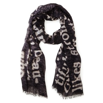dictionary scarves for writers and readers
