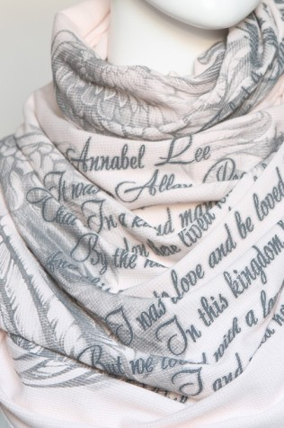 poetry scarves for readers and writers