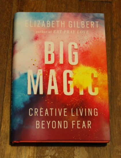 big magic creative living beyond fear book haul