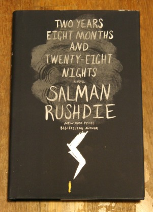 book haul salman rushdie