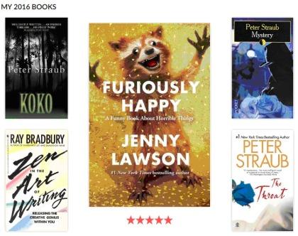 jenny lawson peter straub ray bradbury books