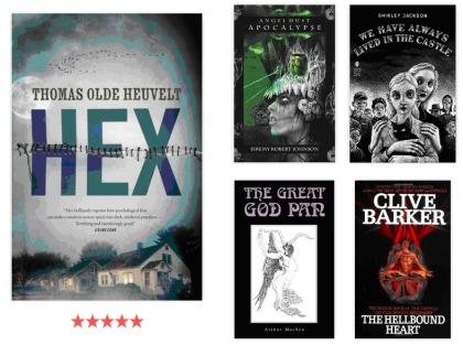 HEX thomas olde heuvelt shirley jackson clive barker books