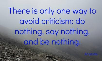 a to z blogging challenge quotation criticism