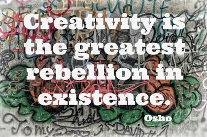 monday morning quote love - rebellion osho