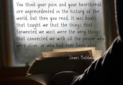 A to Z Blogging Challenge James Baldwin Quotation