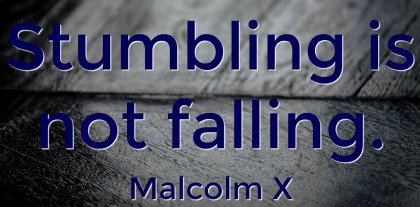 Malcolm X Quotation - A to Z Blogging Challenge