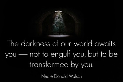 Neale Donald Walsch Quote - A to Z Blogging Challenge