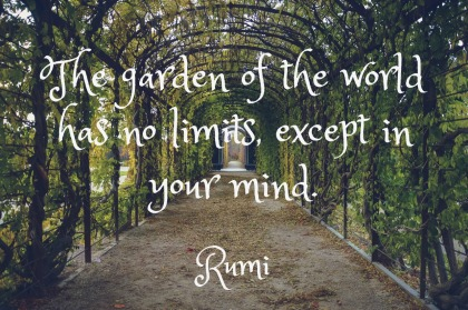 Rumi Quotation A to Z Blogging Challenge