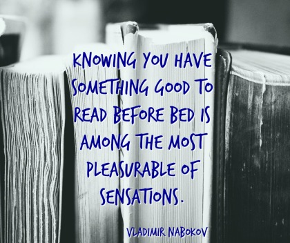 Vladimir Nabokov quotation A to Z Blogging Challenge