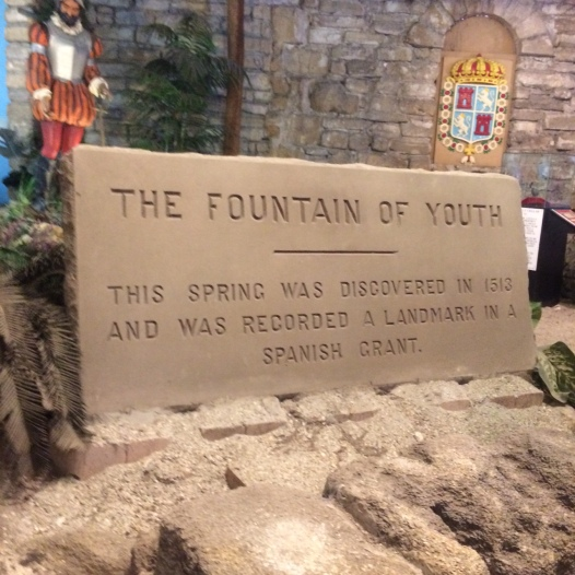 The Fountain of Youth Sign