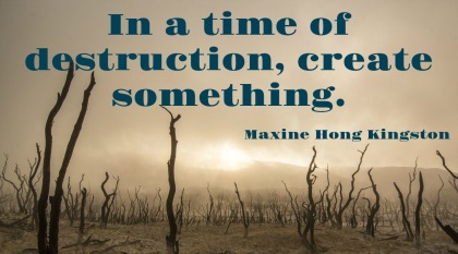 Monday Morning Quote Love Maxine Hong Kingston