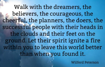 monday morning quote love Wilferd Peterson