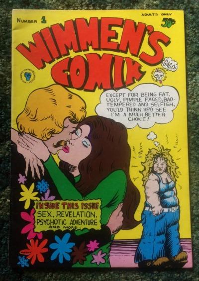wimmen's comik